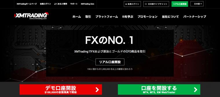 海外FX業者「XM」とは?XM(XMTrading)の特徴と評価