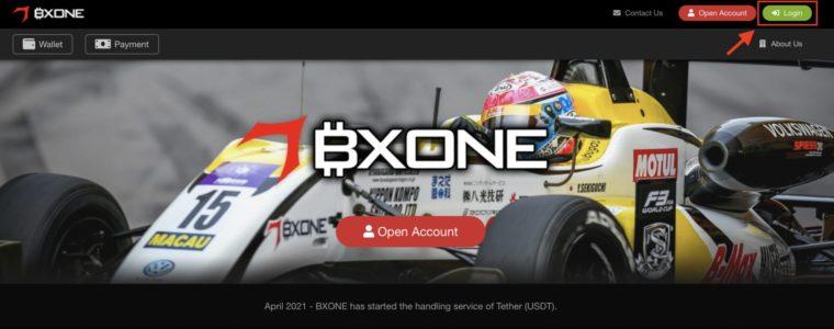 bxone口座有効化手順